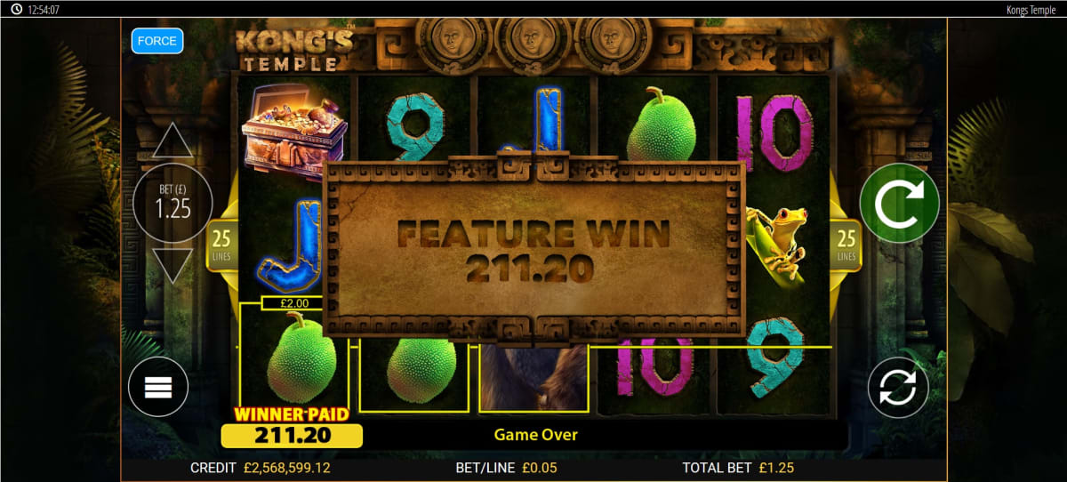 kongs temple free spins