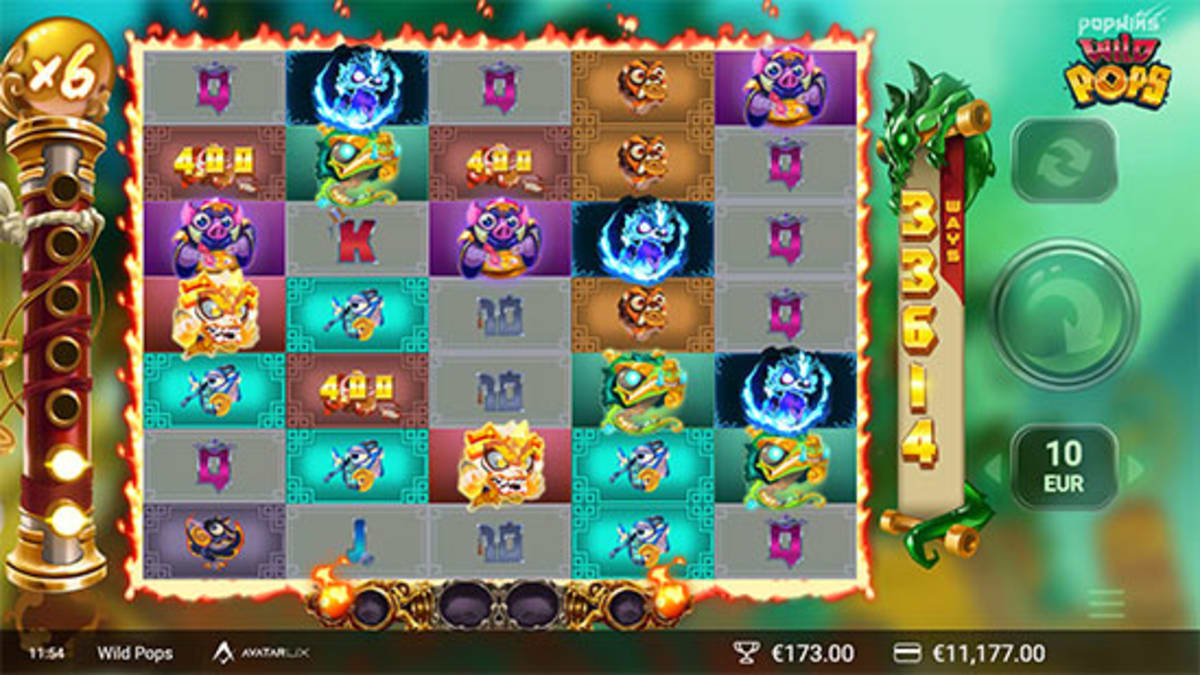 wild pop bonusgame