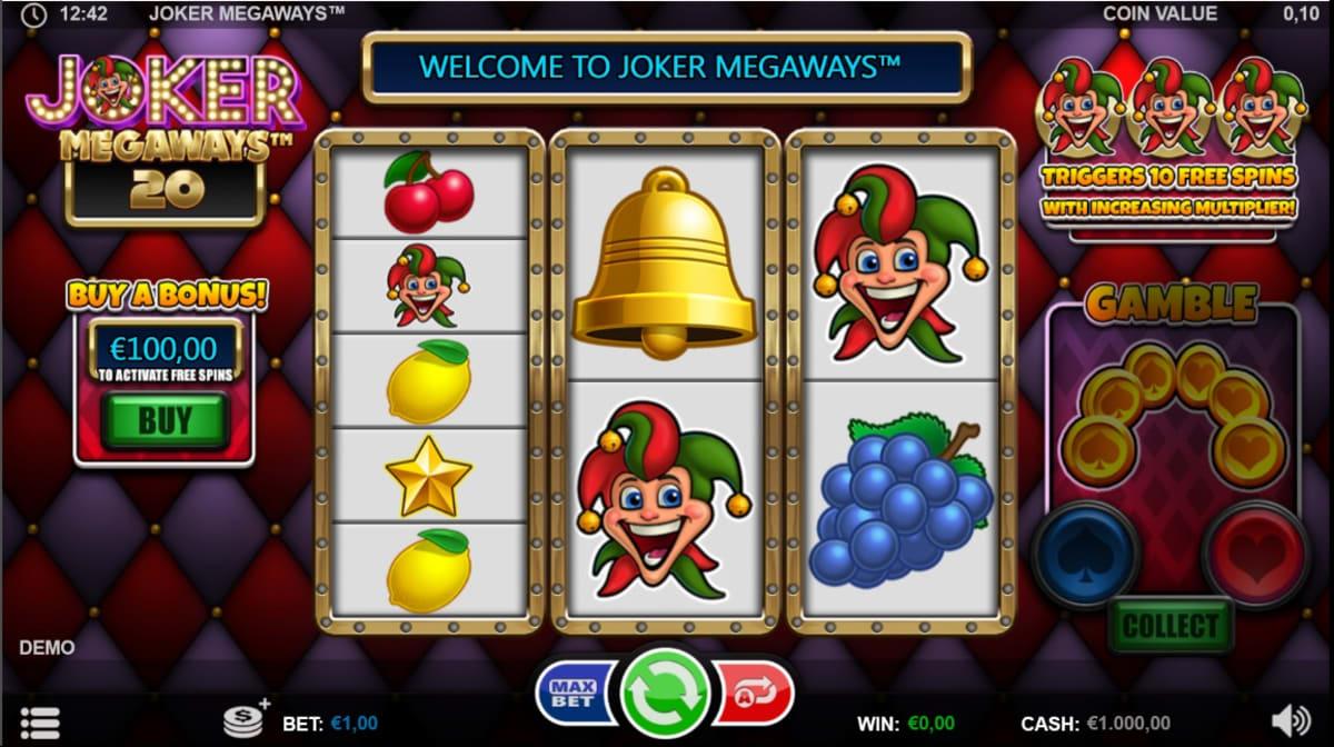 Joker Megaways main