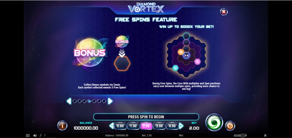 How to win big in Diamond Vortex – Free Spins feature