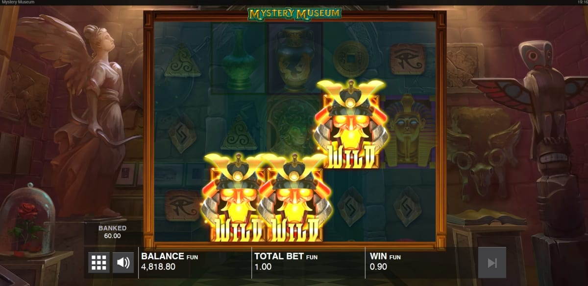 mystery museum free spins trigger