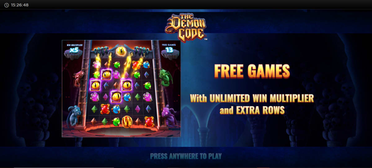 the demon code free spins