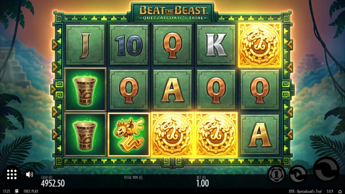beat the beast Free Spins Pic