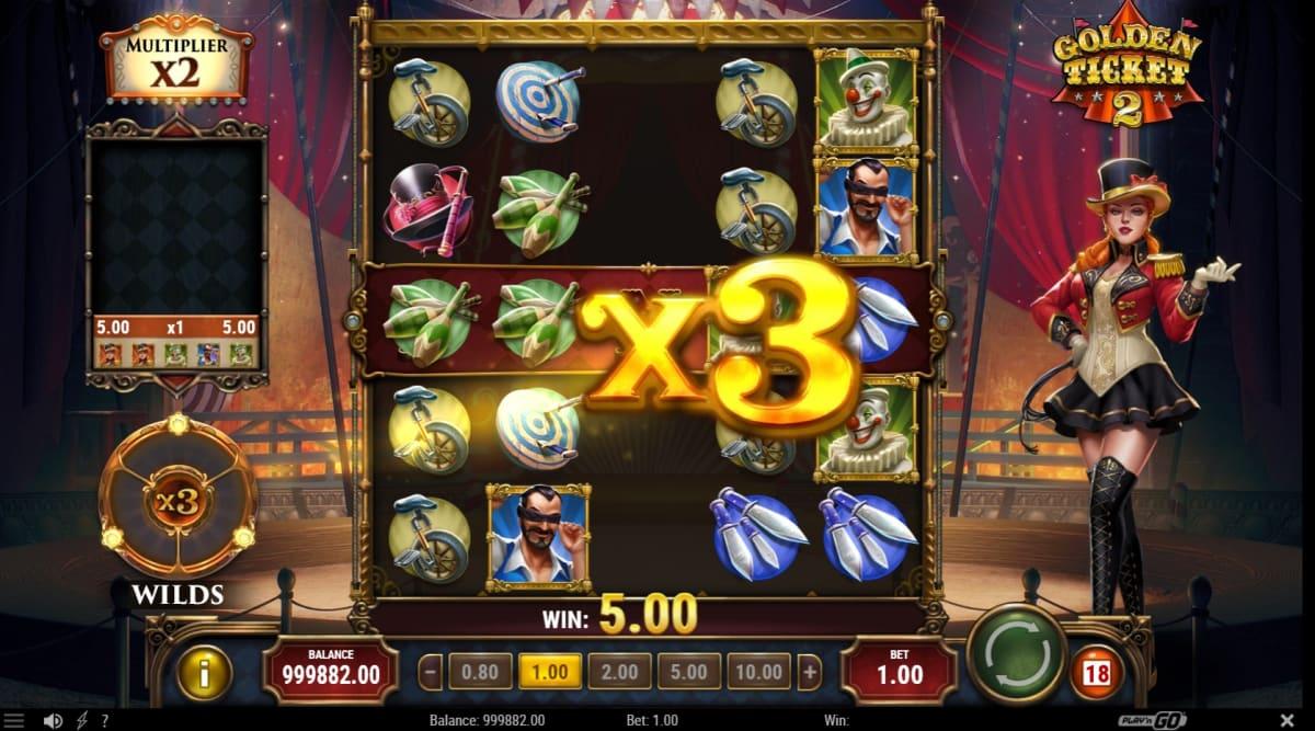 golden ticket 2 multiplier wilds
