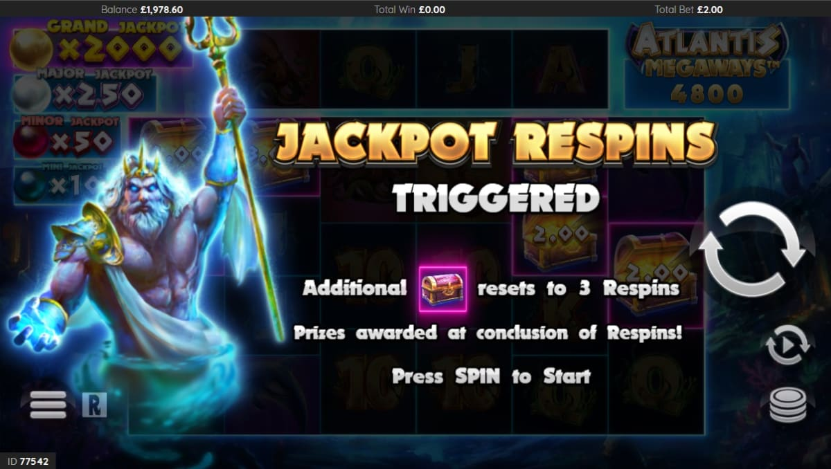 jackpot respins trigger picture