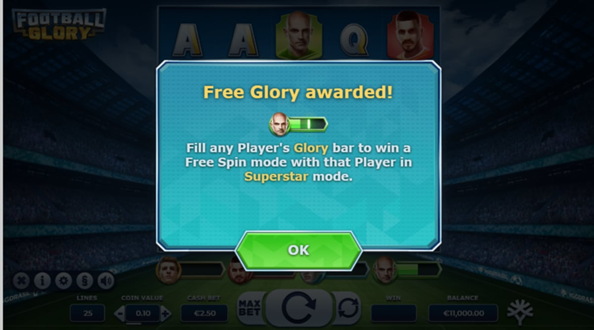 football glory features