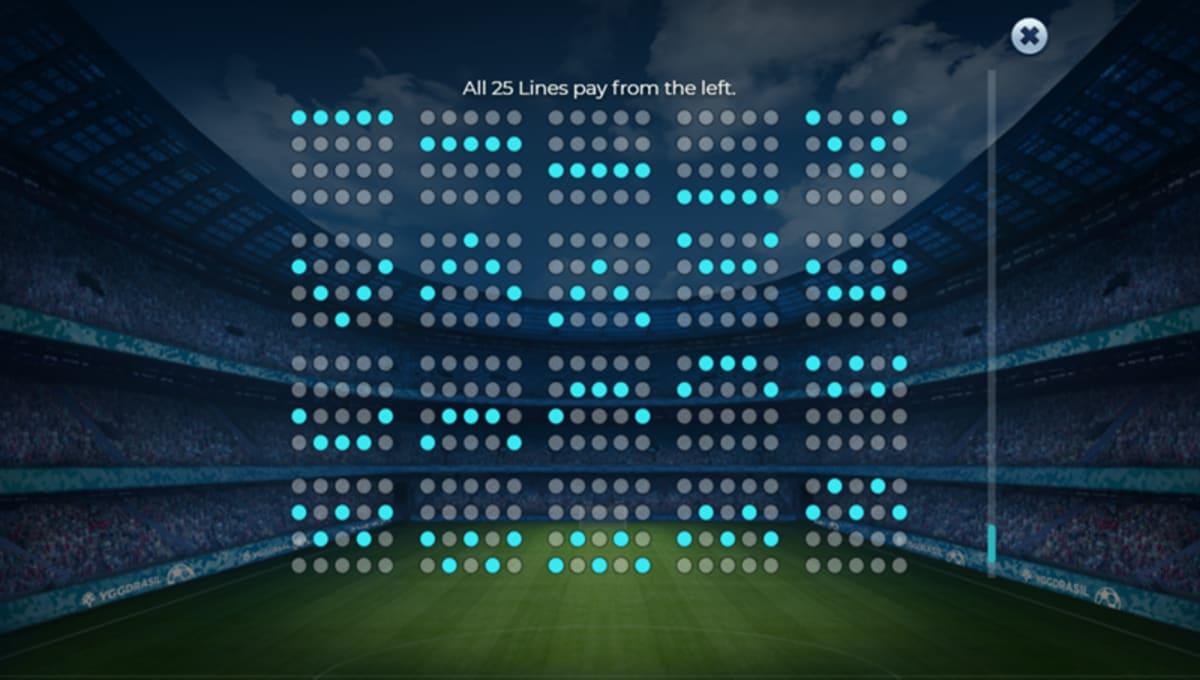 football lory paylines
