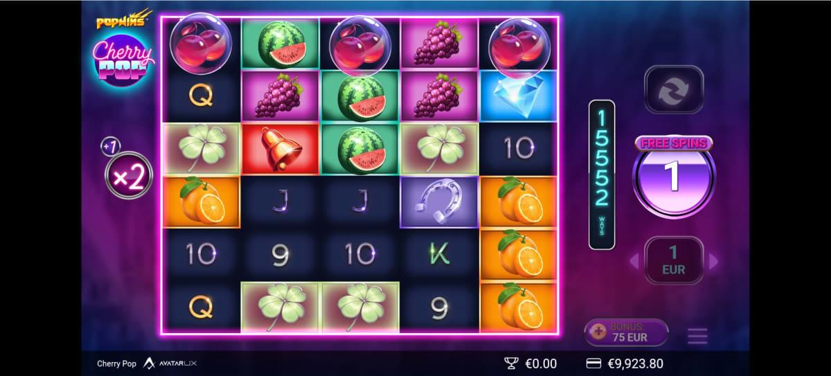 CherryPop™ win big