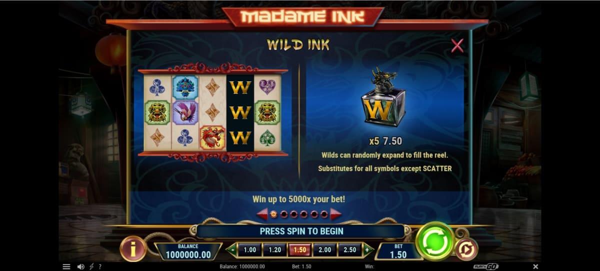 madame ink big win
