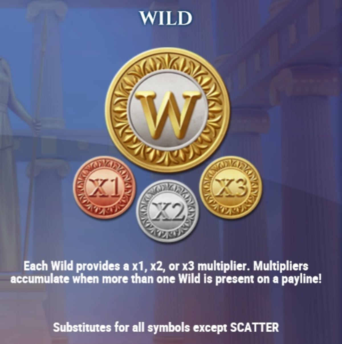 Rise of athena multiplier wilds pic