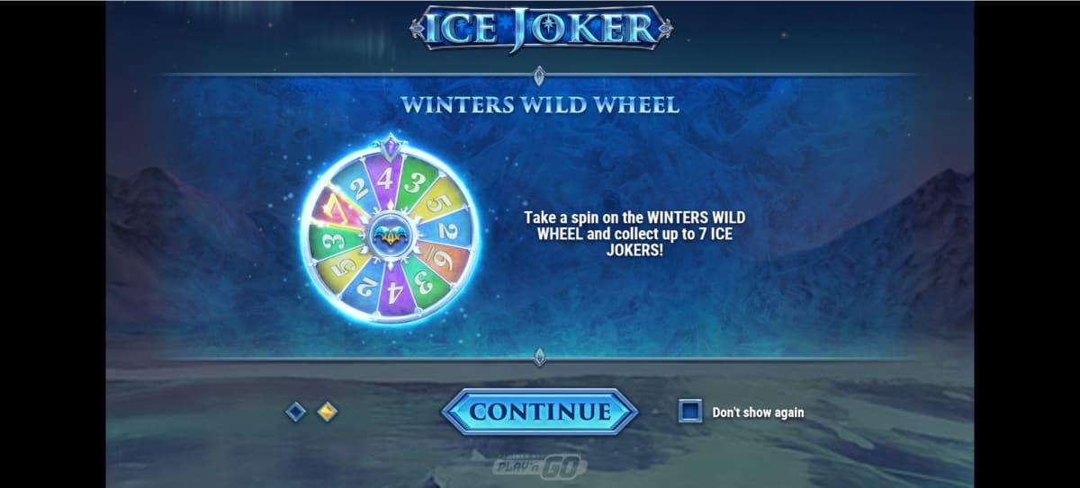 ice joker big win