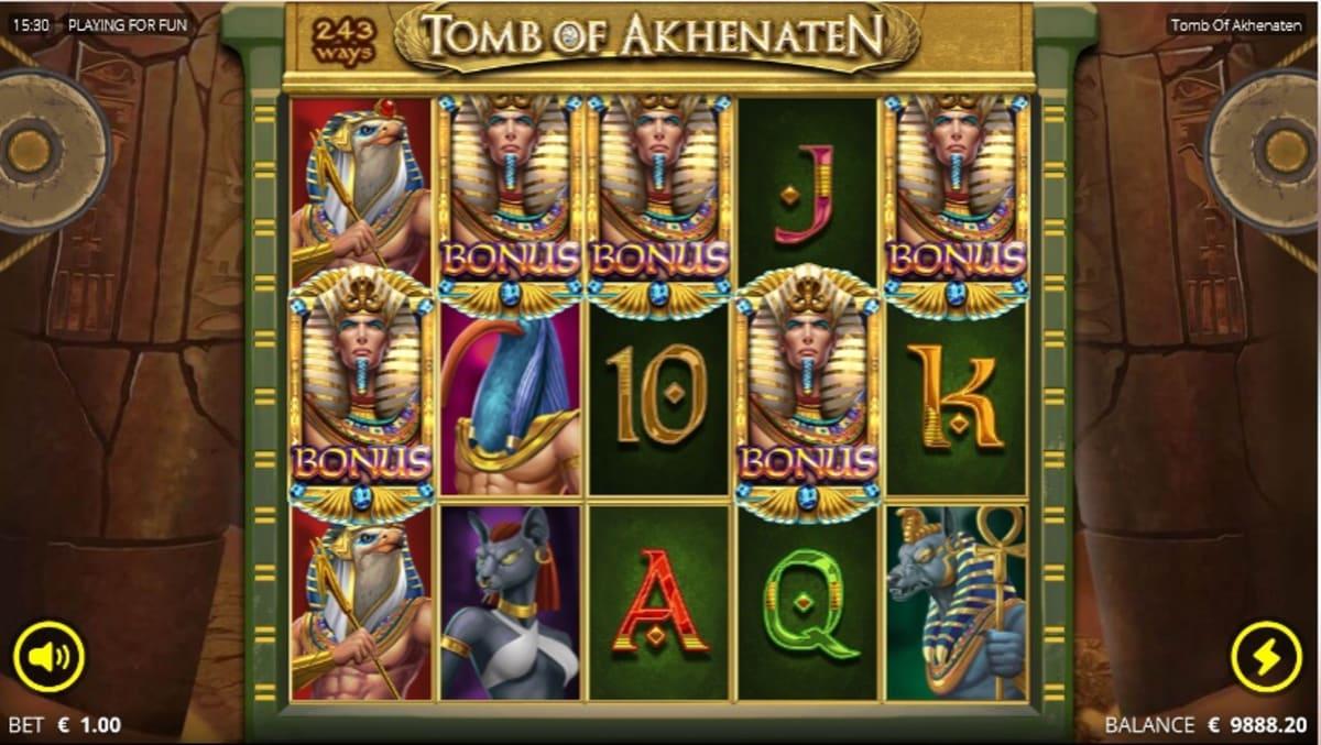 trigger Akhenaten spins pic