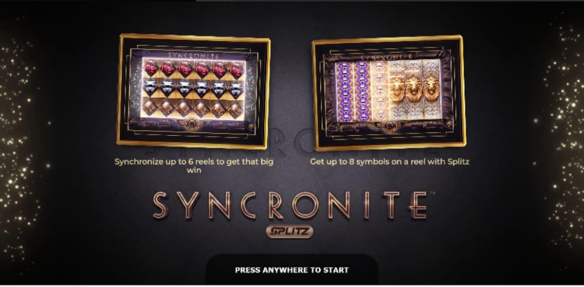 syncronite splitz splash screen