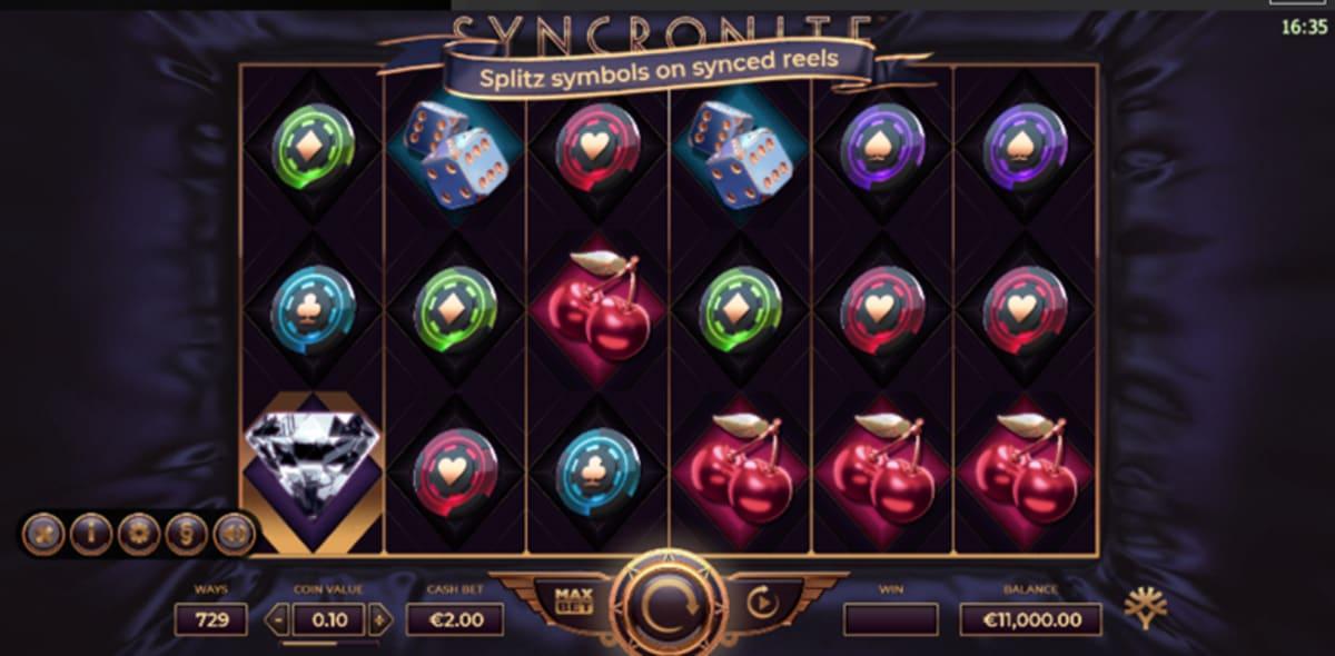 Syncronite Splitz main