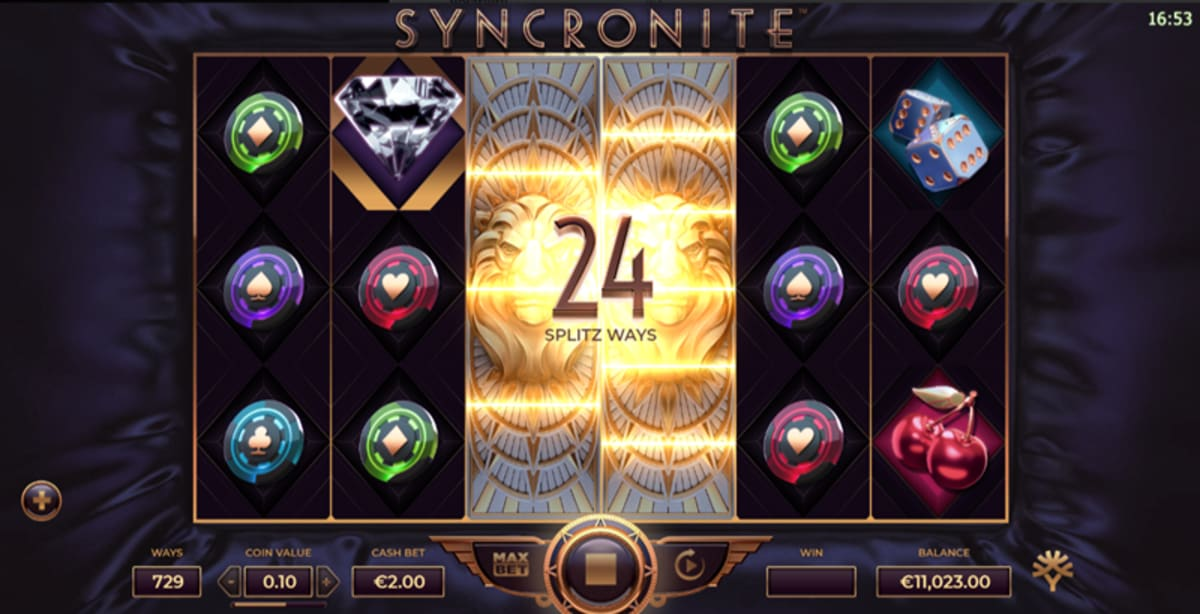 syncronite splitz split feature