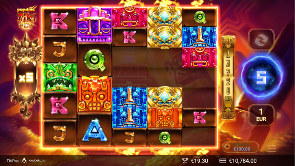 Tikipop free spins with multiplier