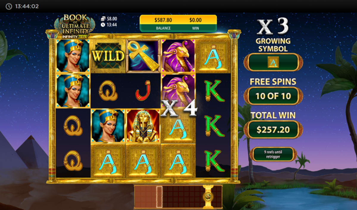 Book of ultimate infinity free spins