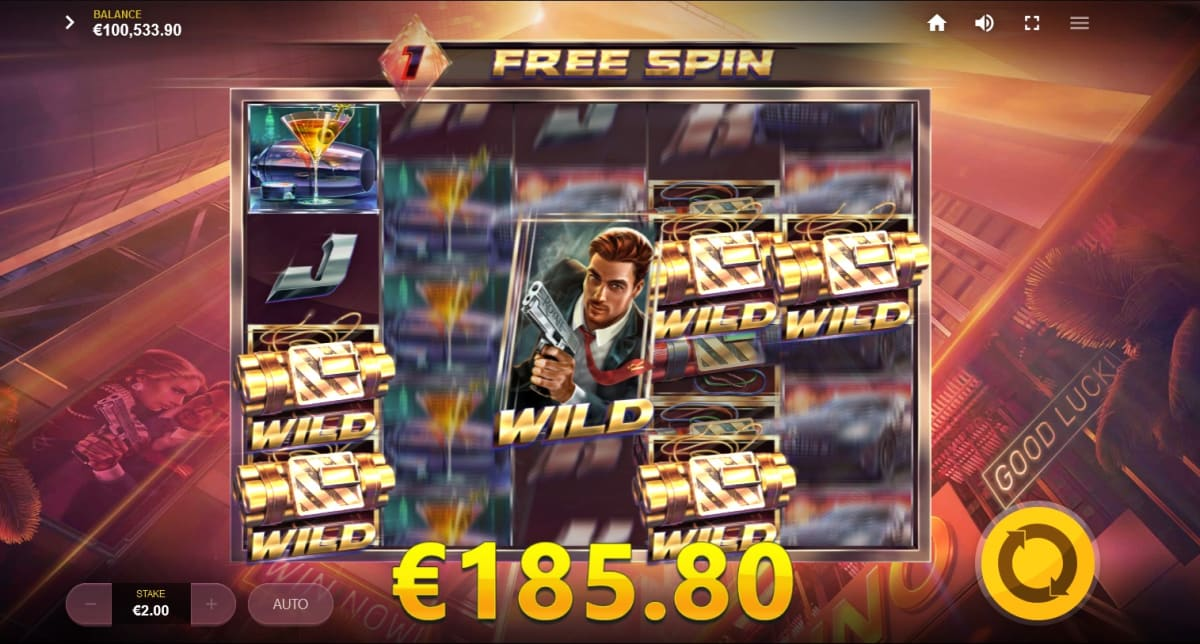 add free spin with sticky wilds pic
