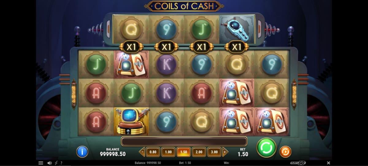coils of cash main