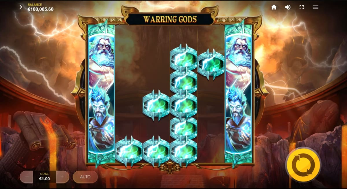 add Warring Gods with Expanded Reels and Symbol Upgrades