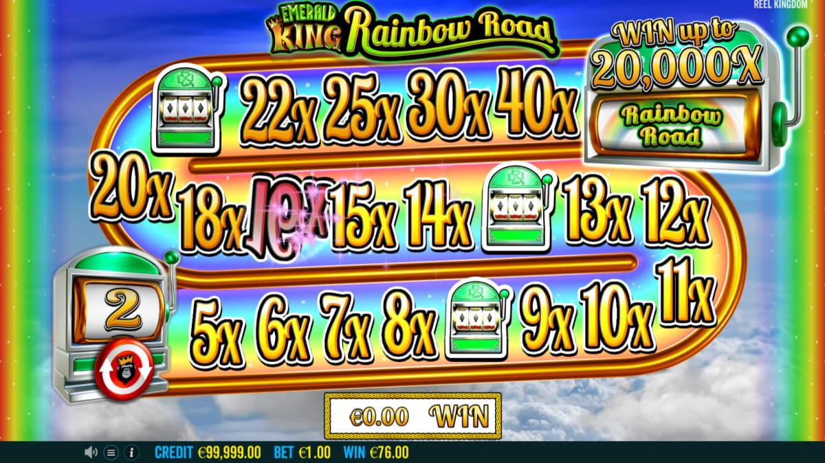 add rainbow road bonus pic