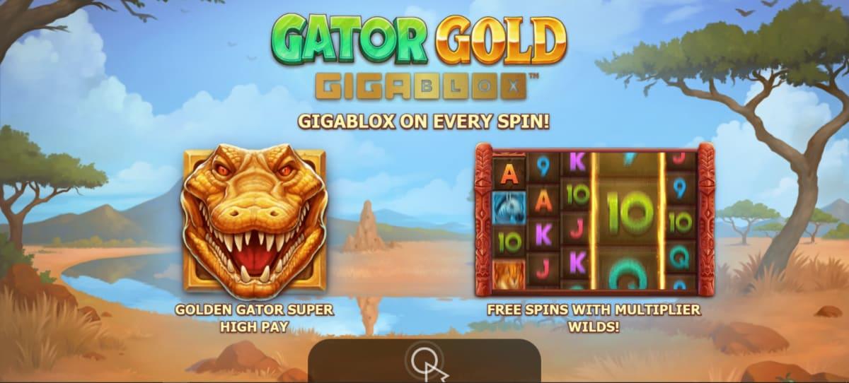 gator gold splashscreen
