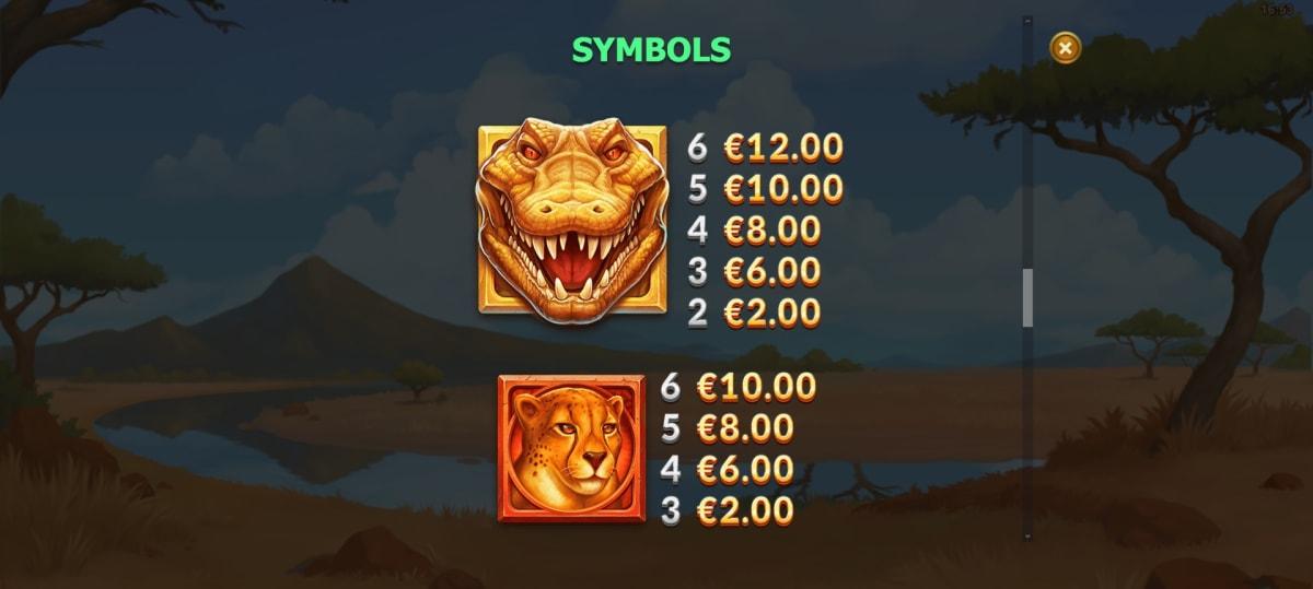 gator gold paytable2