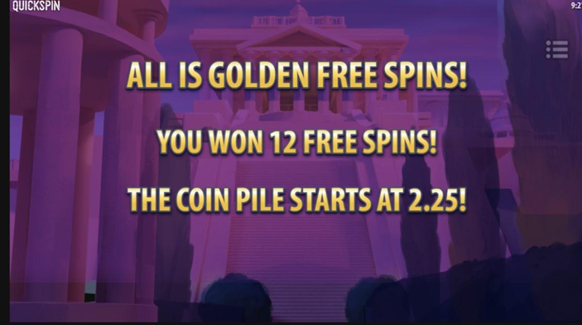 midas coins freespins