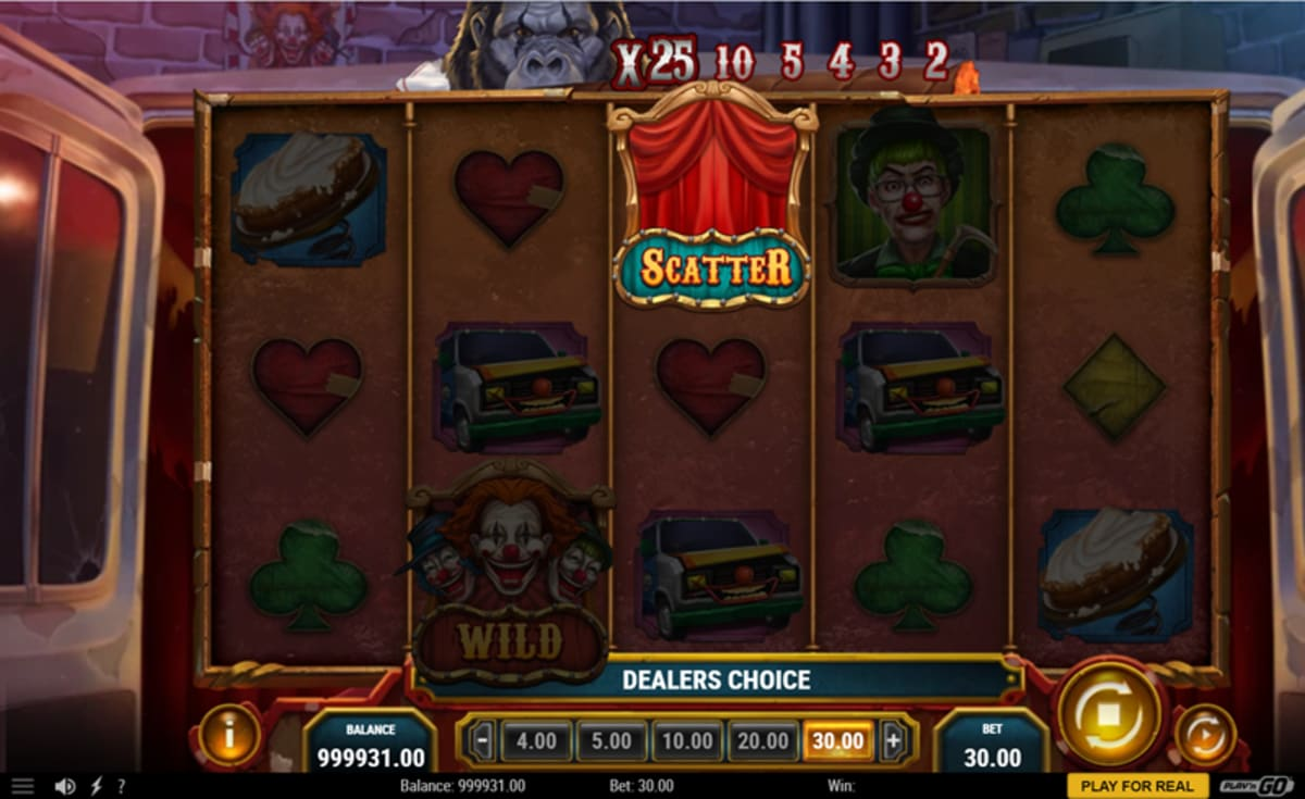 3 clown monty dealers choice