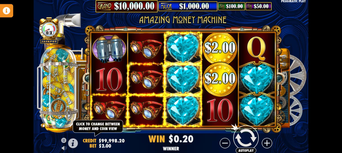 the amazing money machine main