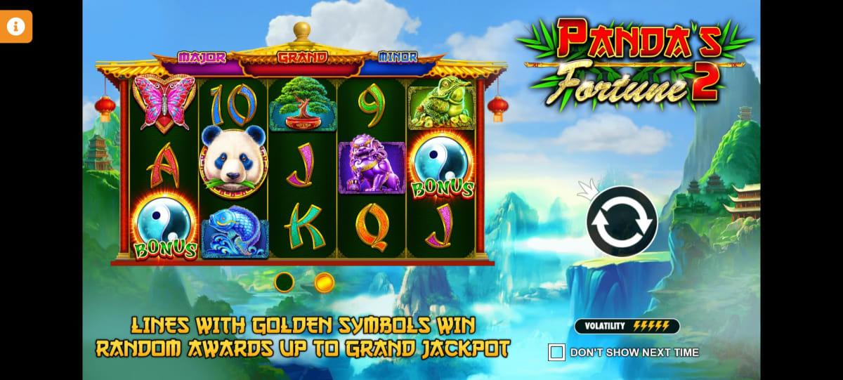 panda fortune 2 splahscreen