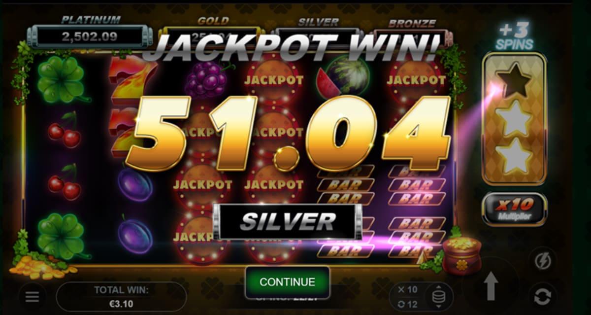 joker leprechauns silver win