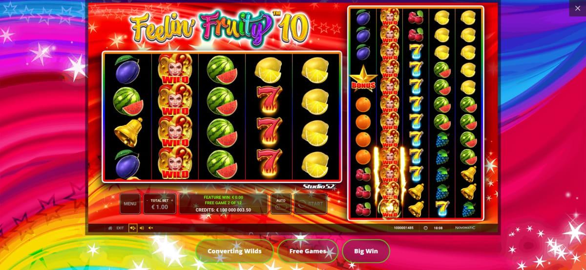feelin fruity 10 big win