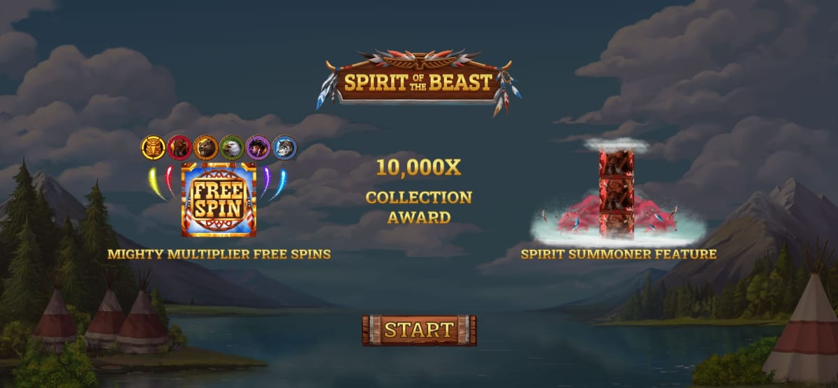 spirit of the beast splash screen