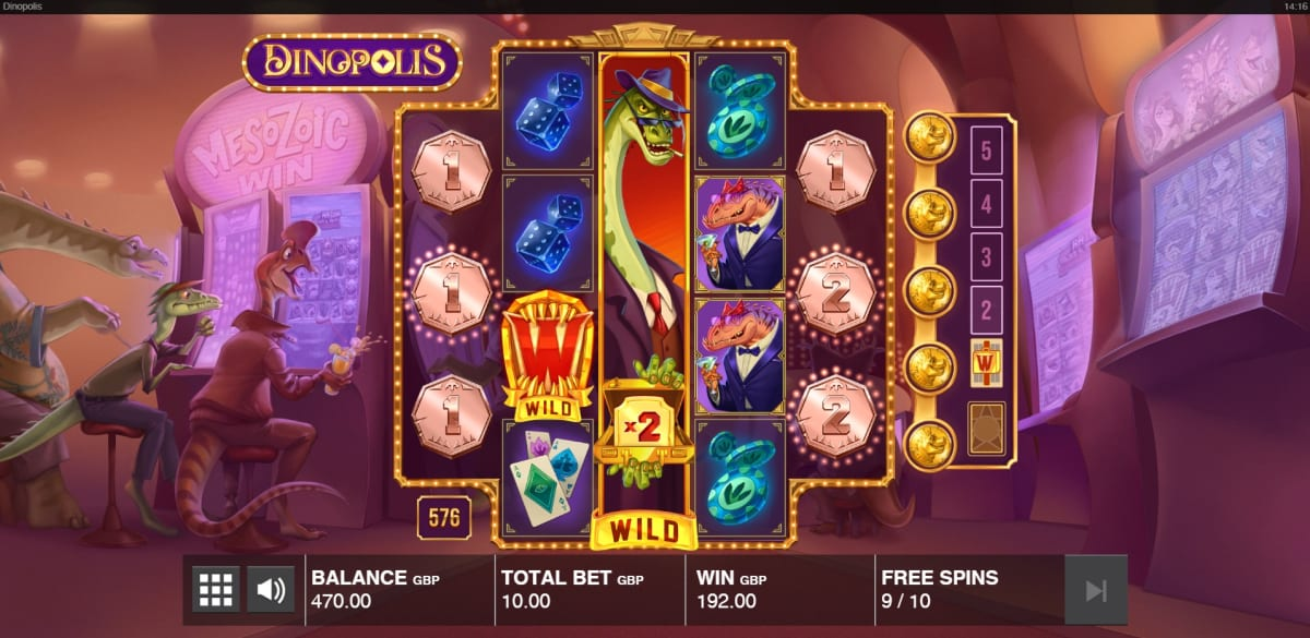 free spins coin level up pic