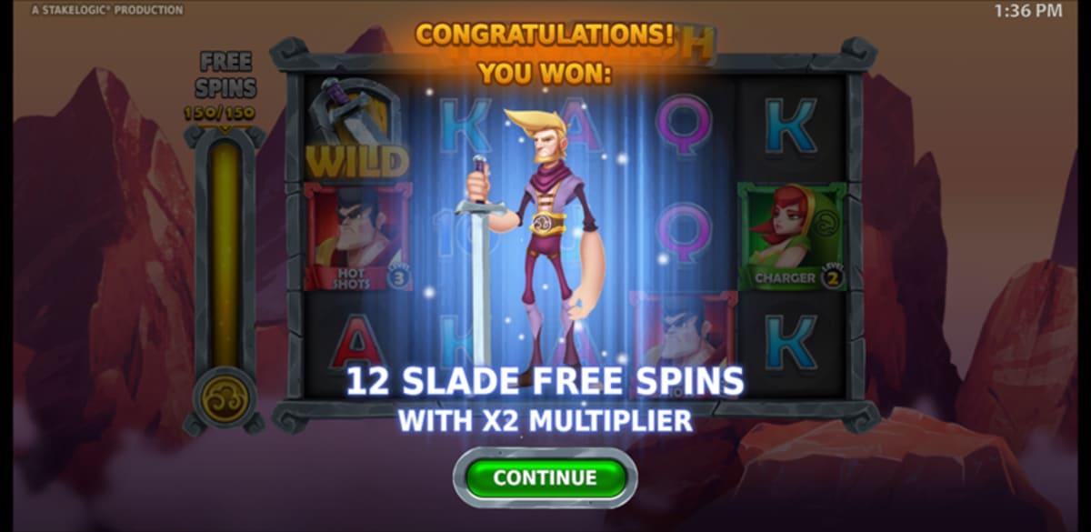trigger free spins