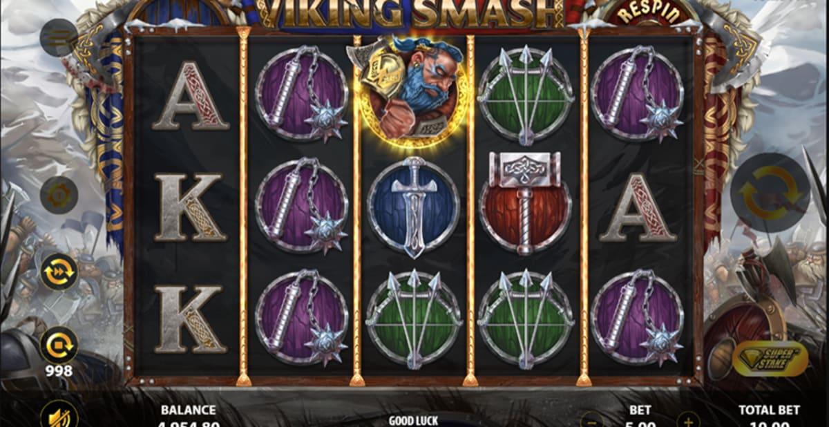 viking smash super stake walking wilds