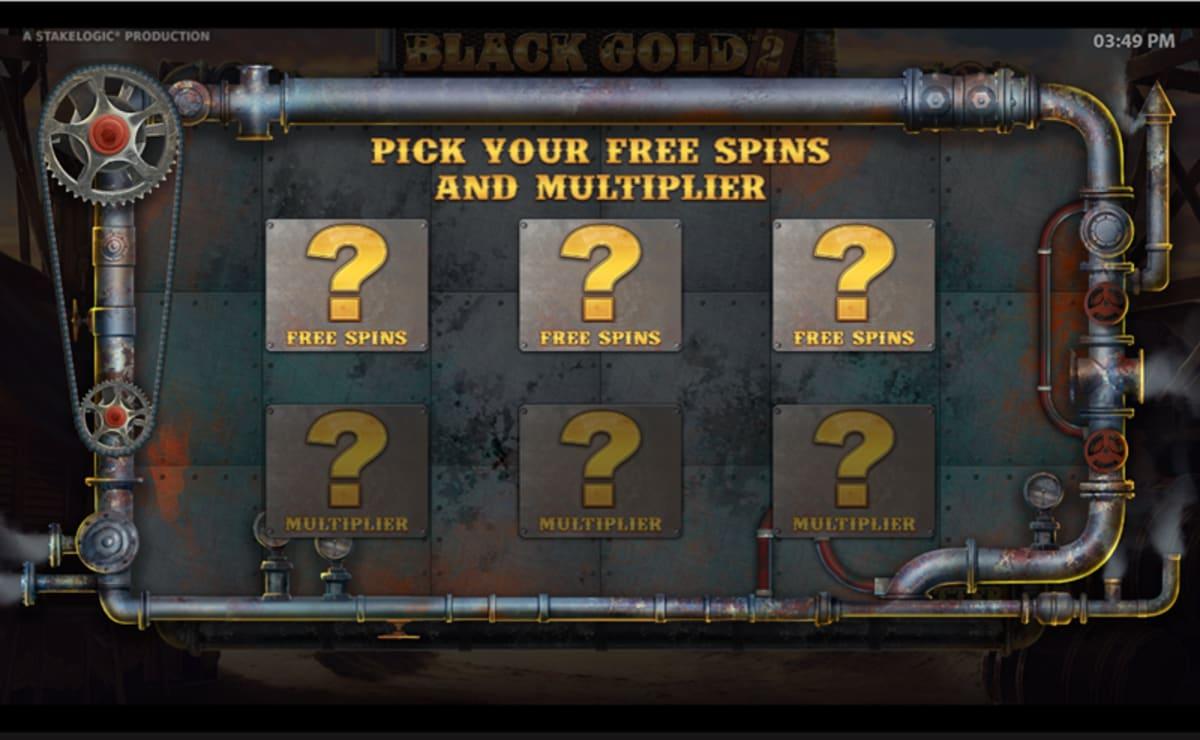 free spins pick