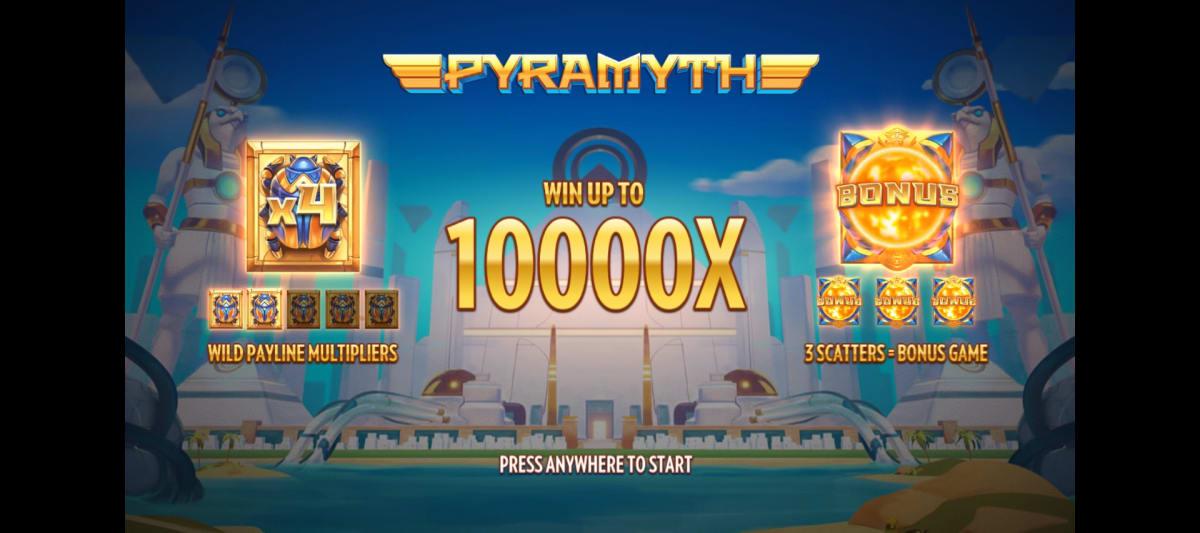 pyramyth splashscreen