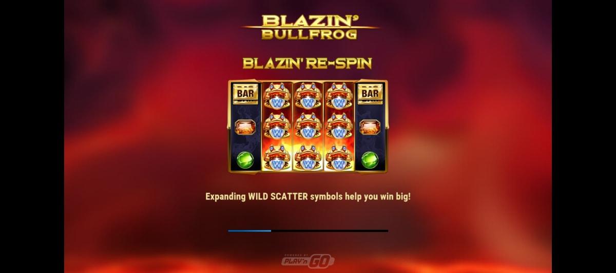 blazin bulldog splash screen