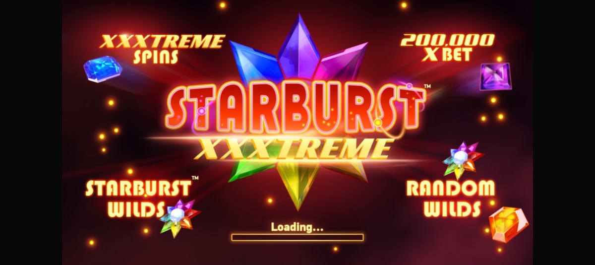 starburst xxxtreme splashscreen