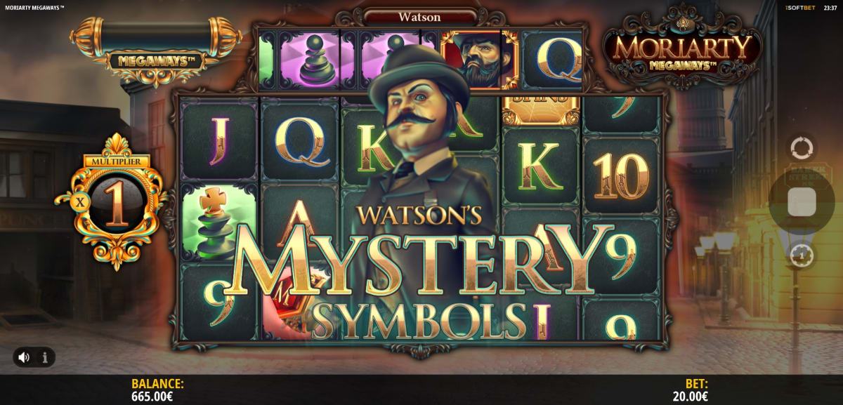 Watson's mystery symbols base game pic
