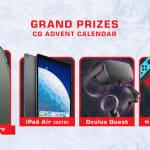 CasinoGrounds Advent 2019 : main prizes