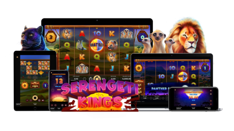 NetEnt Add Their First 'Buy a Bonus' Feature to January's Serengeti Kings