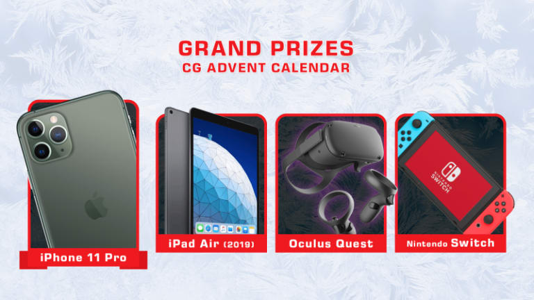 [Reminder] CasinoGrounds Advent : The Main prizes
