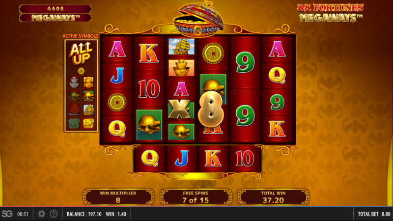 88_Fortunes_Megaways_free_spins