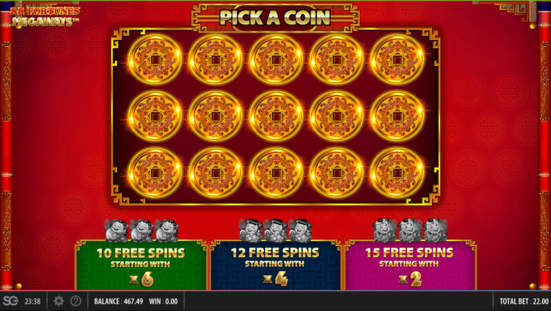 88_Fortunes_Megaways_pick_freespins