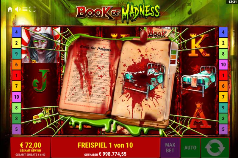 Book of Madness Enter Special Symbol