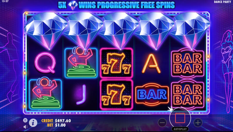 slots-Dance-Party-slot-trigger_free_spins
