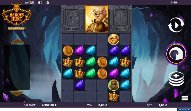 slots-heroes-hunt-slot-fantasma-reels-main-game
